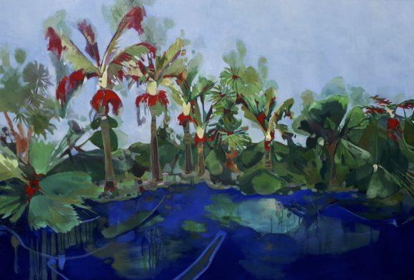Landscape painting by Kate Leslie